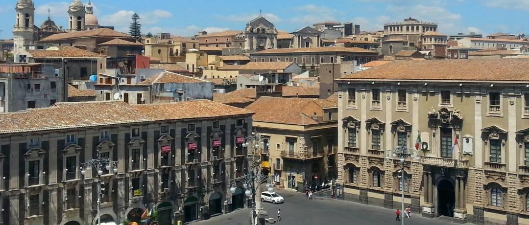 cidade de Catania, Sicília