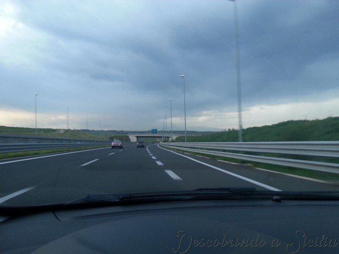Autoestrada Catânia-Siracusa - Foto: Acervo Pessoal