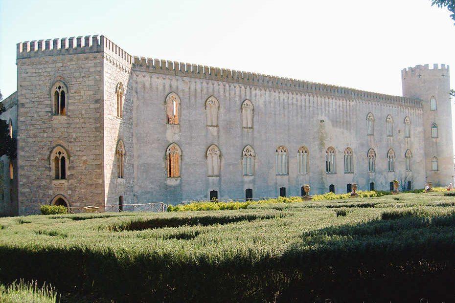 castelo de donnafugata, sicilia