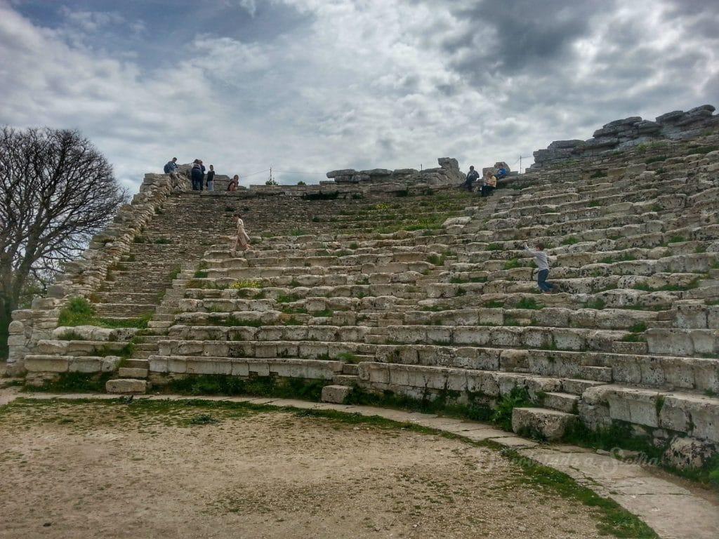 Teatro do Parque Arqueológico de Segesta