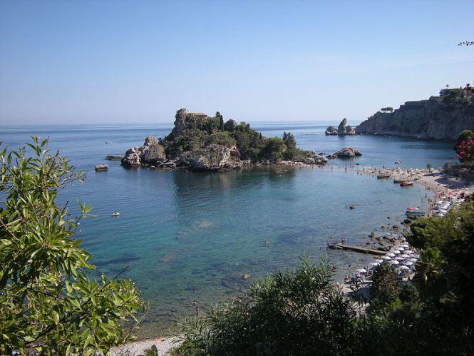 Dica de praia em Taormina: Isola Bella e Letojanni