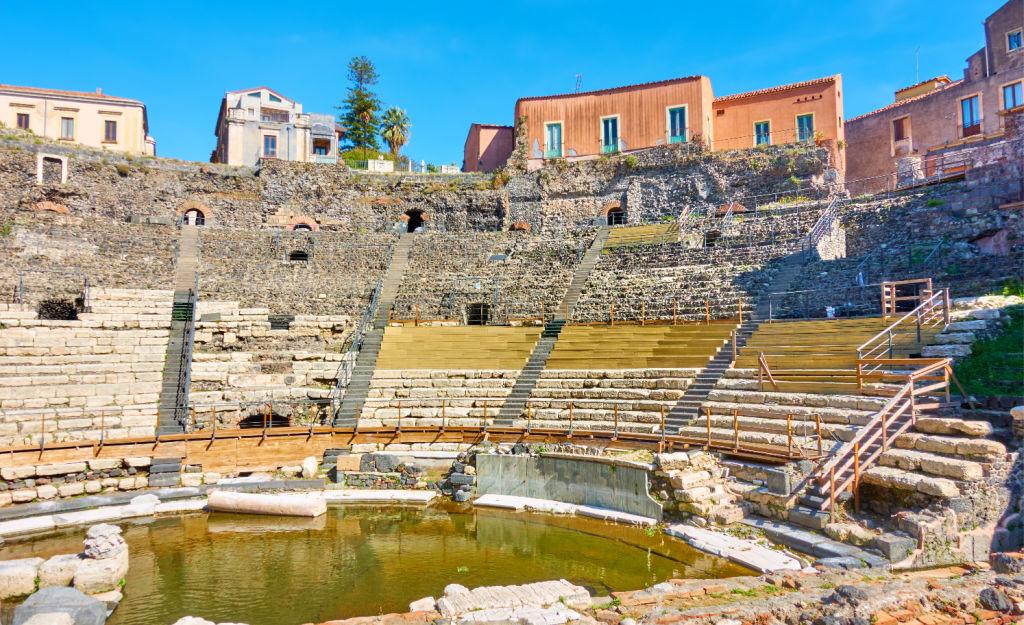 teatro romano de catania