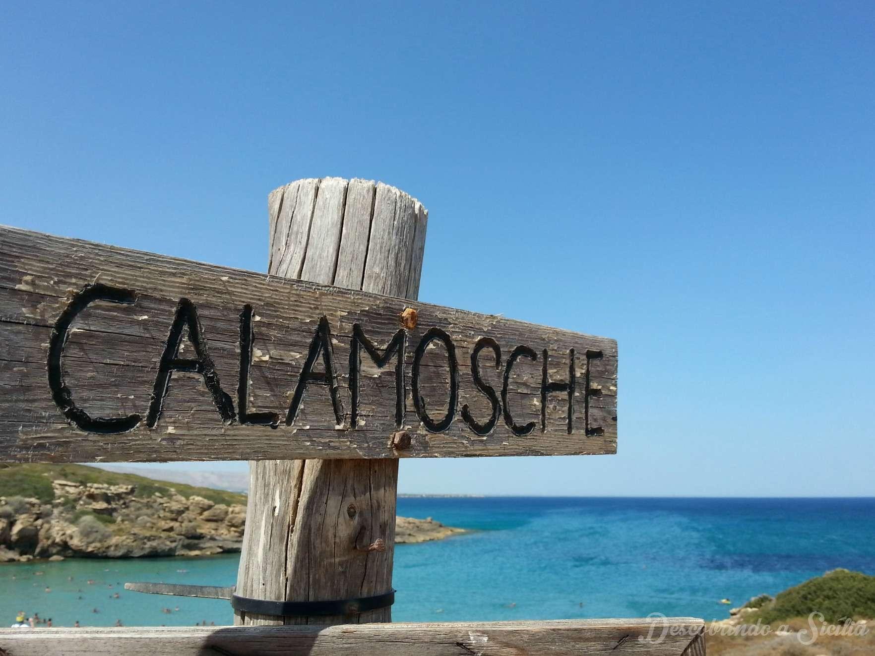 Calamosche, um cantinho de paraíso no sudeste da Sicília