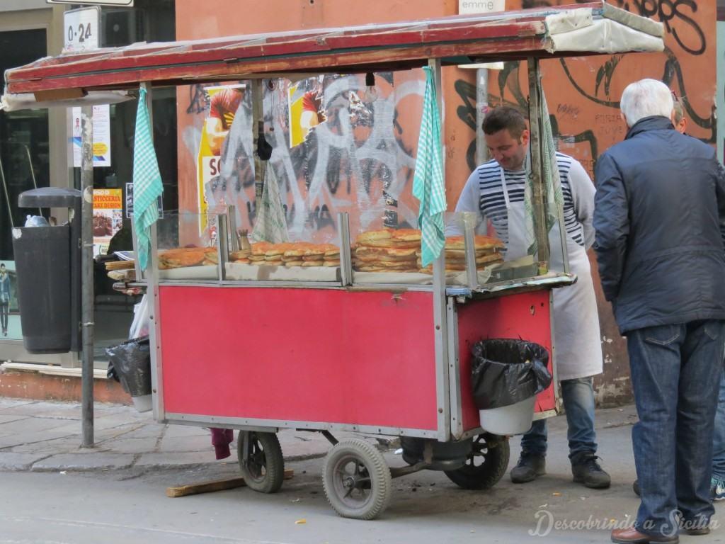 Comida de rua em Palermo