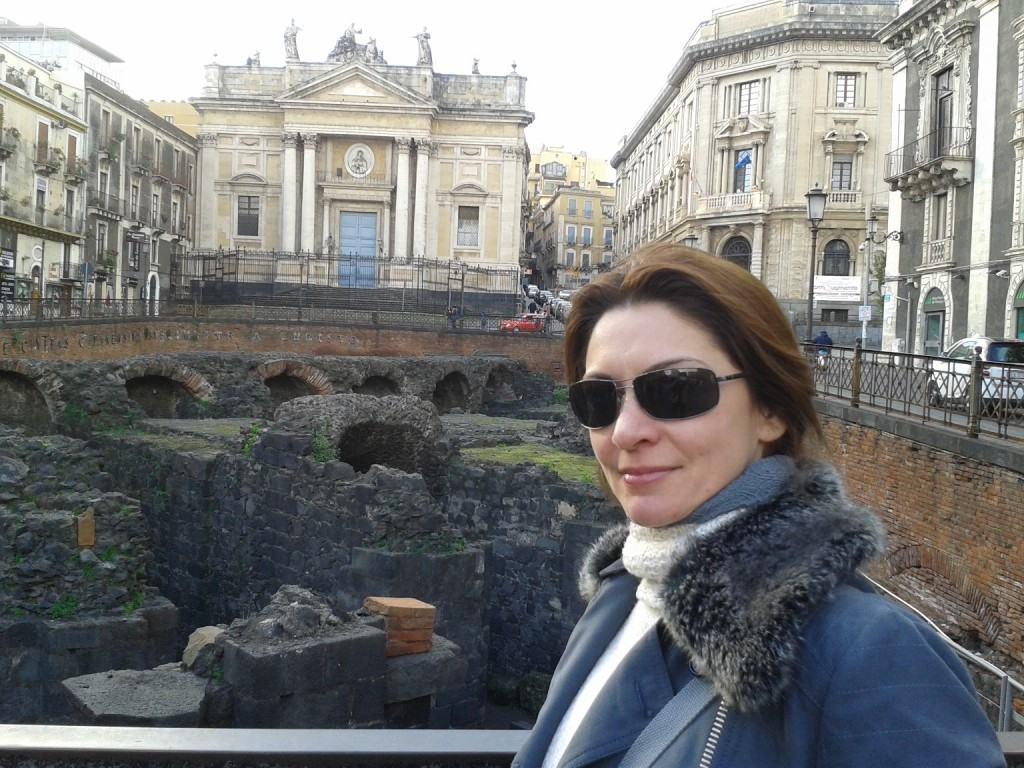 Anfiteatro Romano em Catânia