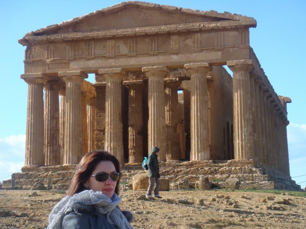 Templo Concórdia em Agrigento
