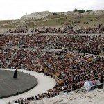 Espetáculos no Teatro Grego de Siracusa