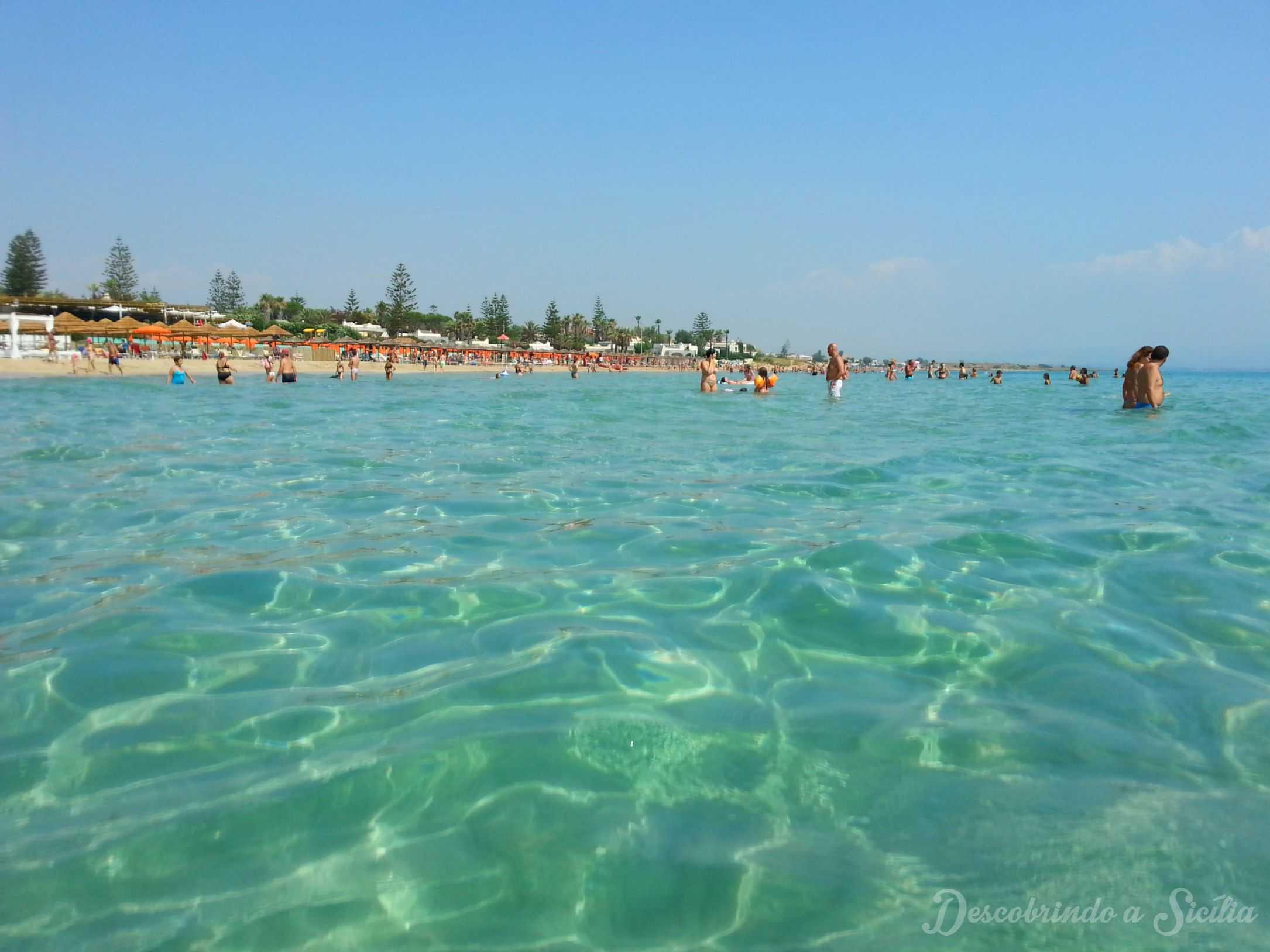 Dica de praia na Sicília: San Lorenzo