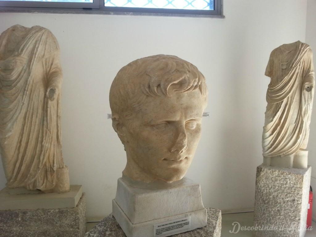Museu arqueológico de Tindari, Sicília