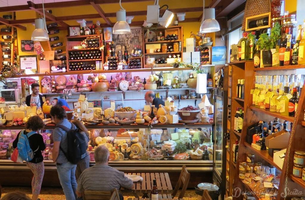 Mercado de Ortigia: a delicatessem dos Irmãos Burgio