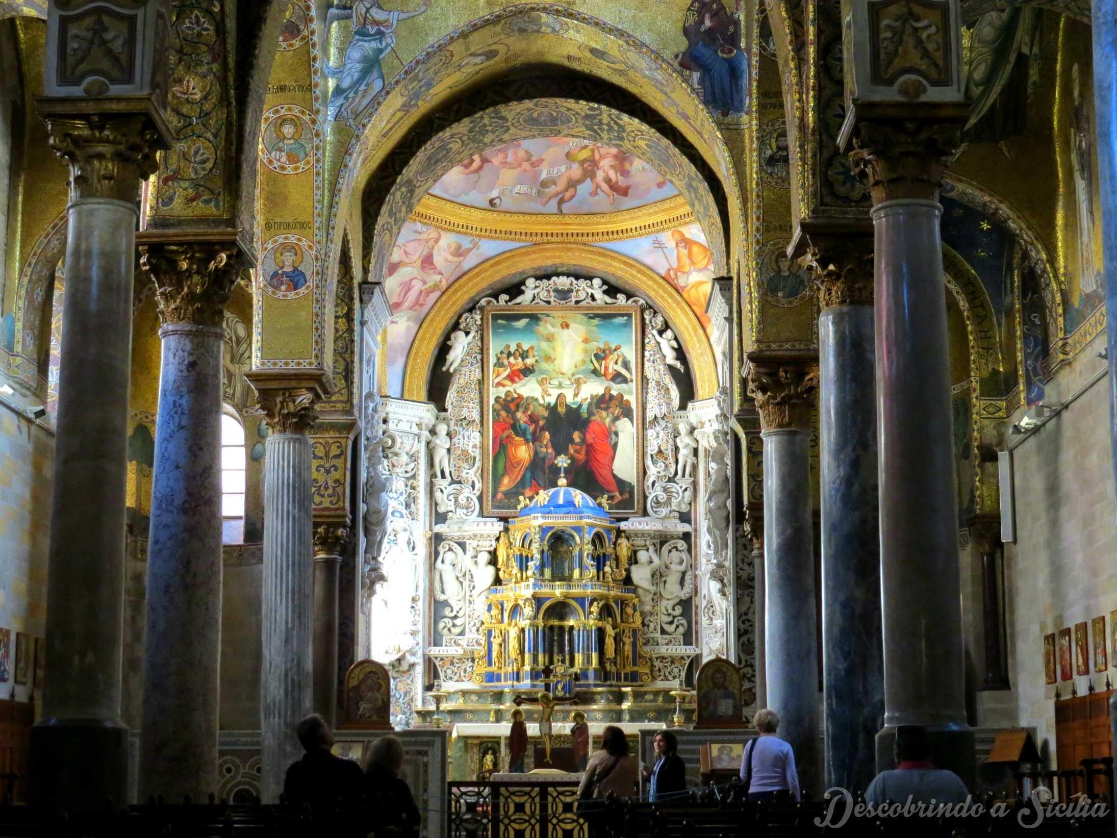Igreja da Martorana em Palermo, Sicília