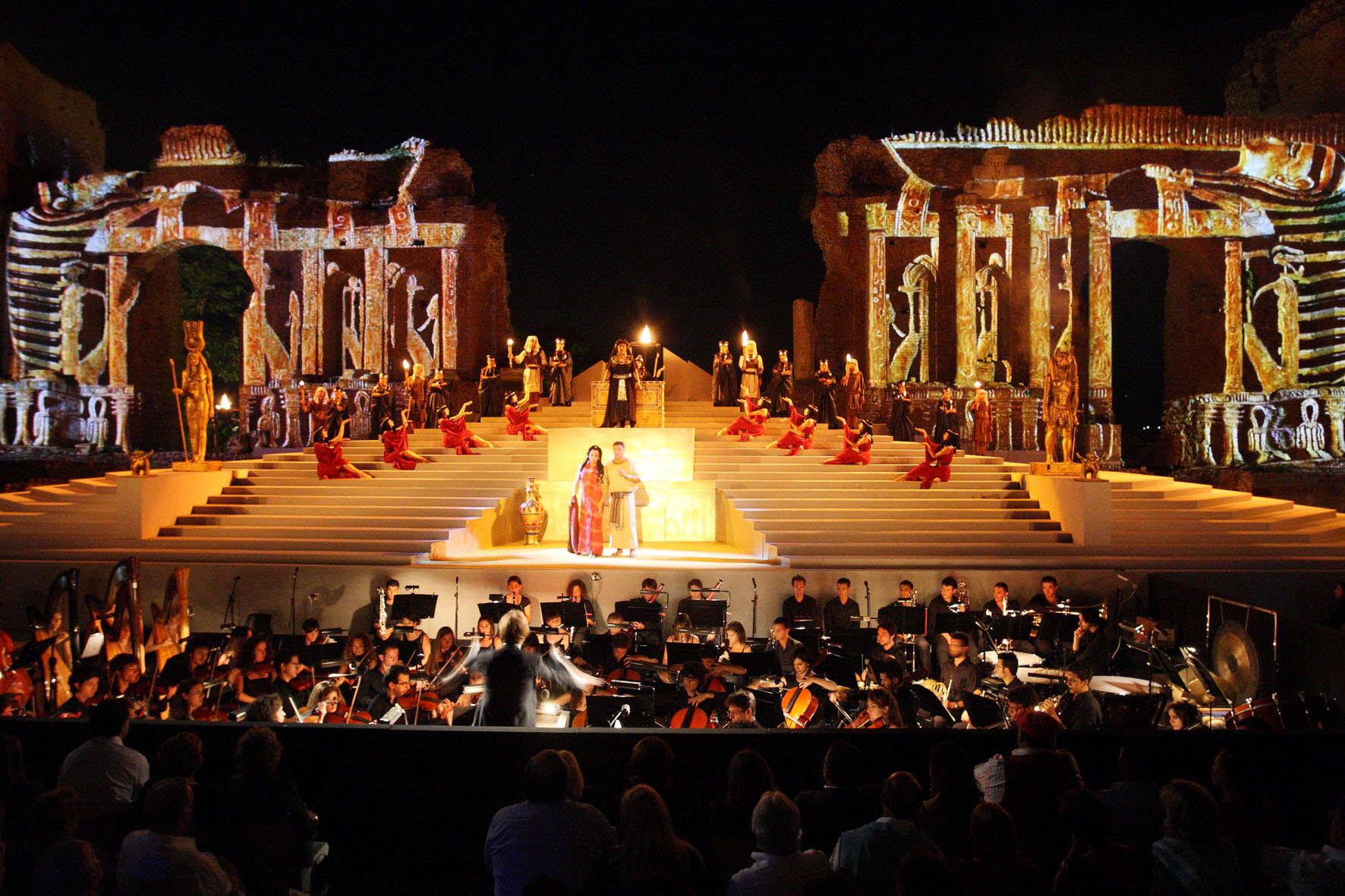 Ópera em Taormina