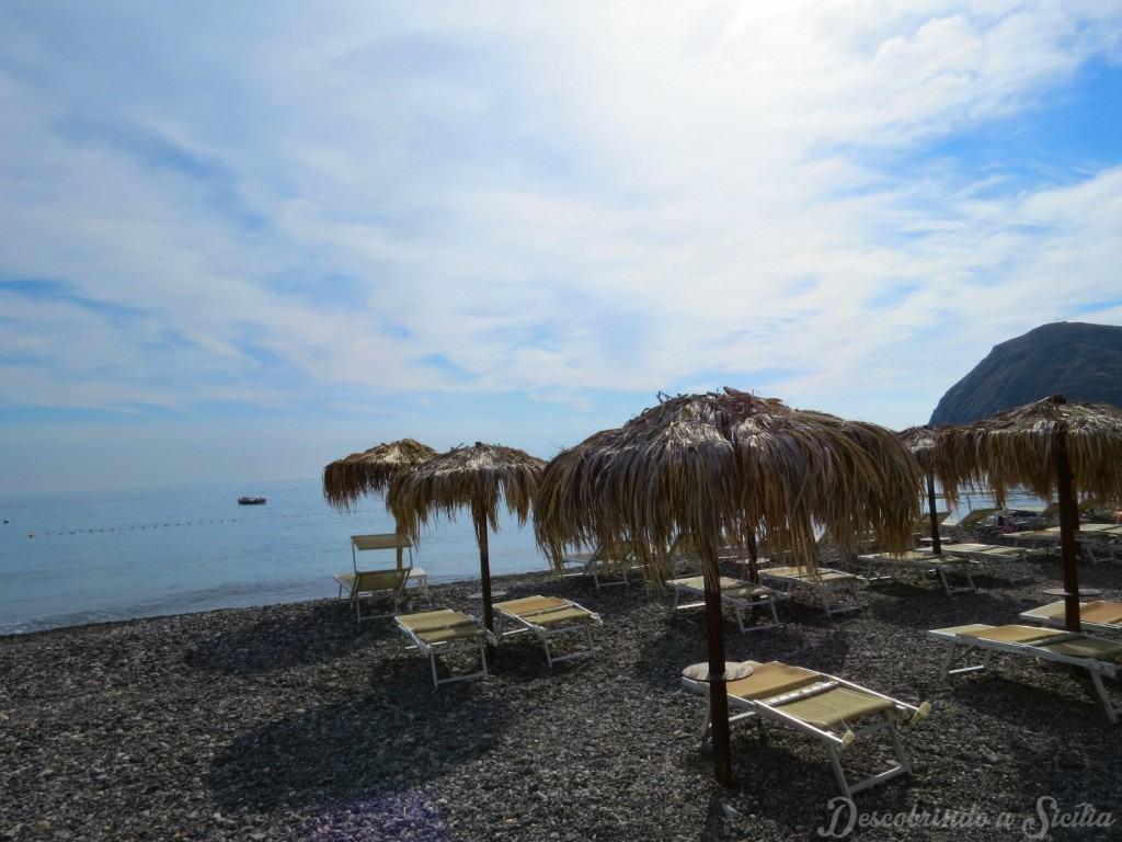 Praia de Lípari, Ilhas Eólias