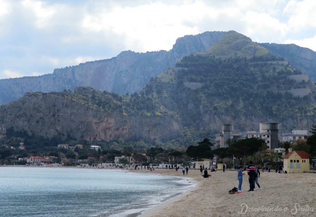 Monte Pellegrino em Palermo