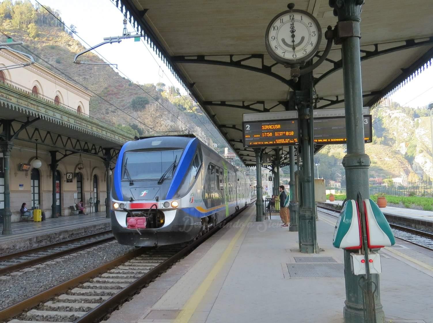 Trens na Sicília