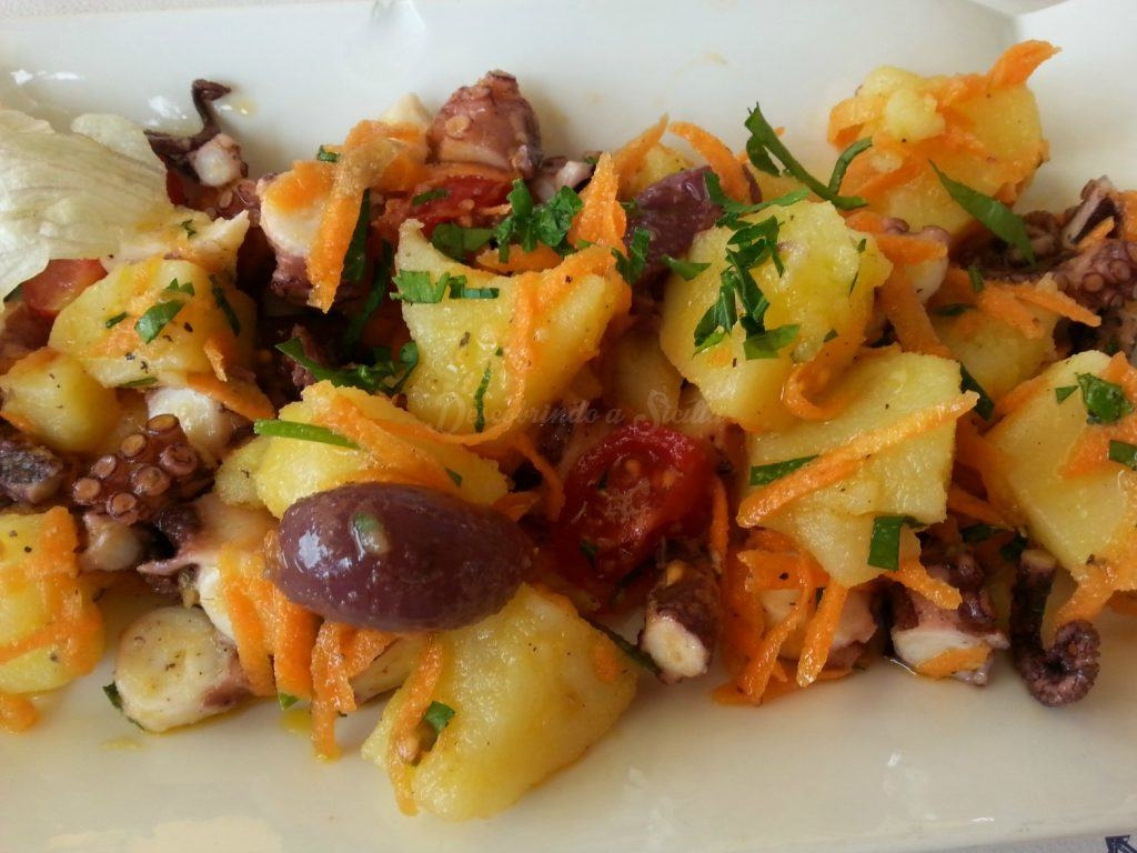 Ilhas Eólias - pratos típicos: insalata eoliana