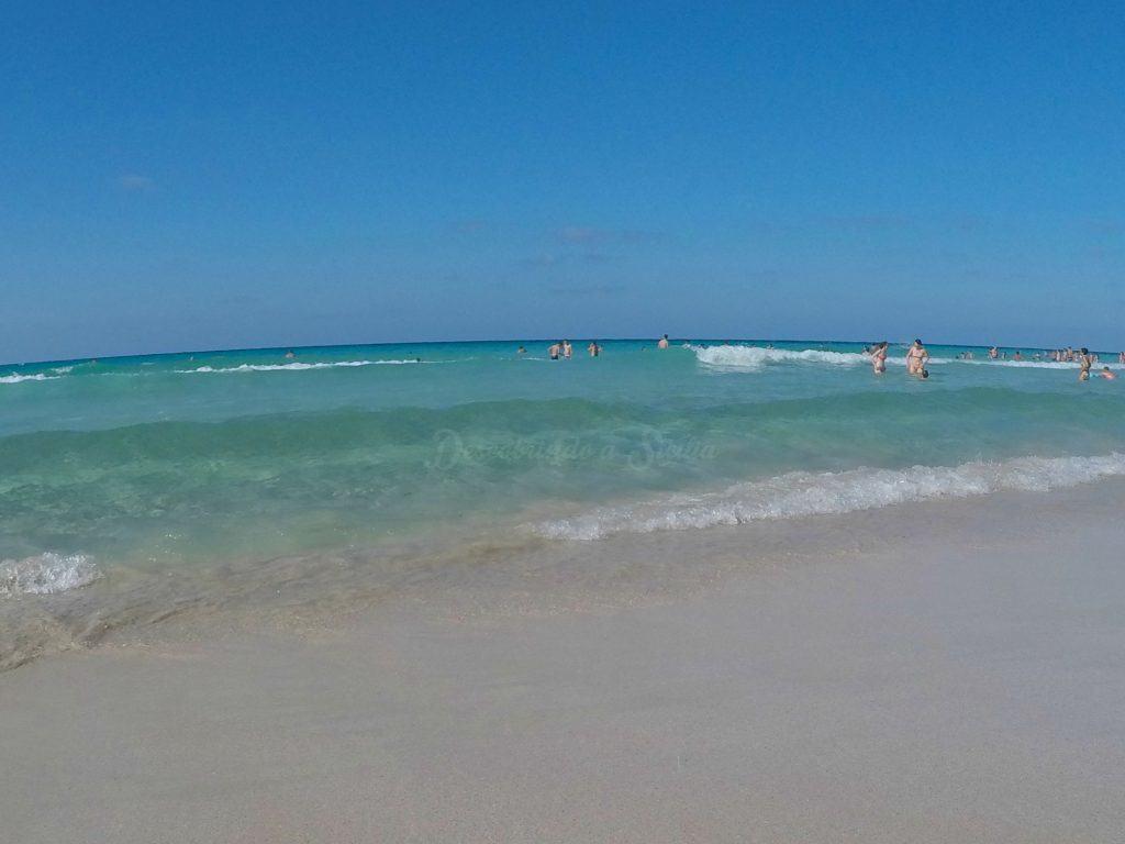 San Vito Lo Capo - a praia