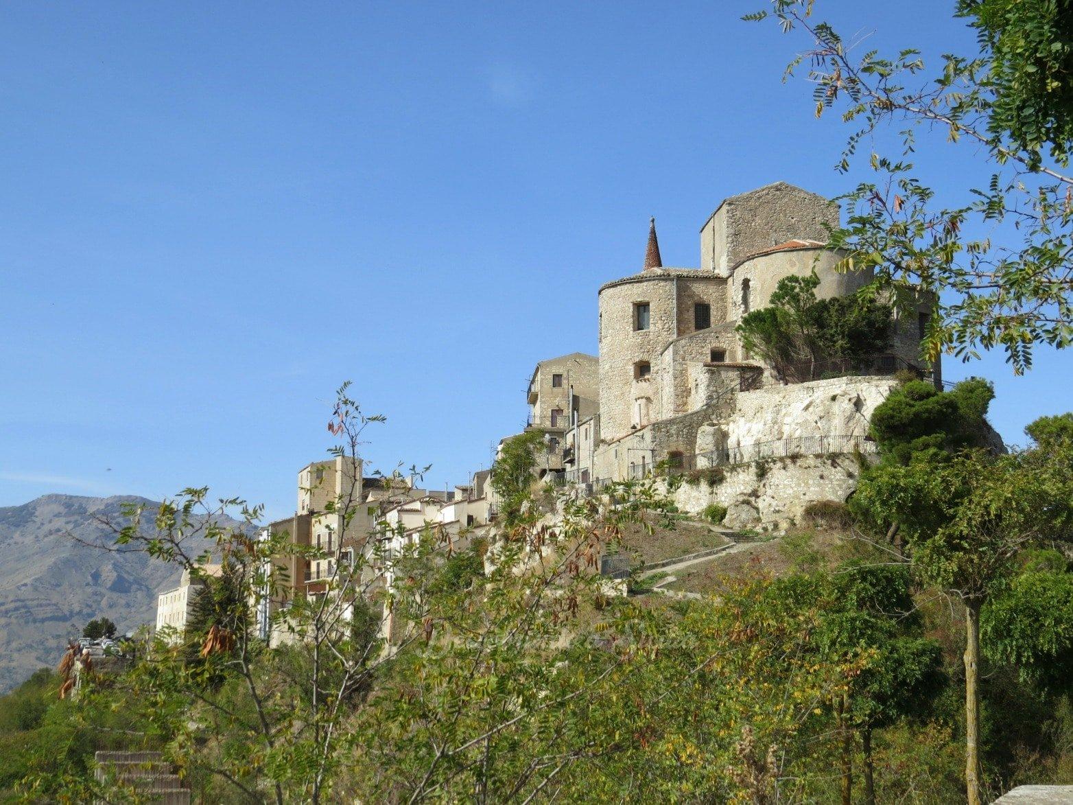 Vilarejos do interior da Sicília