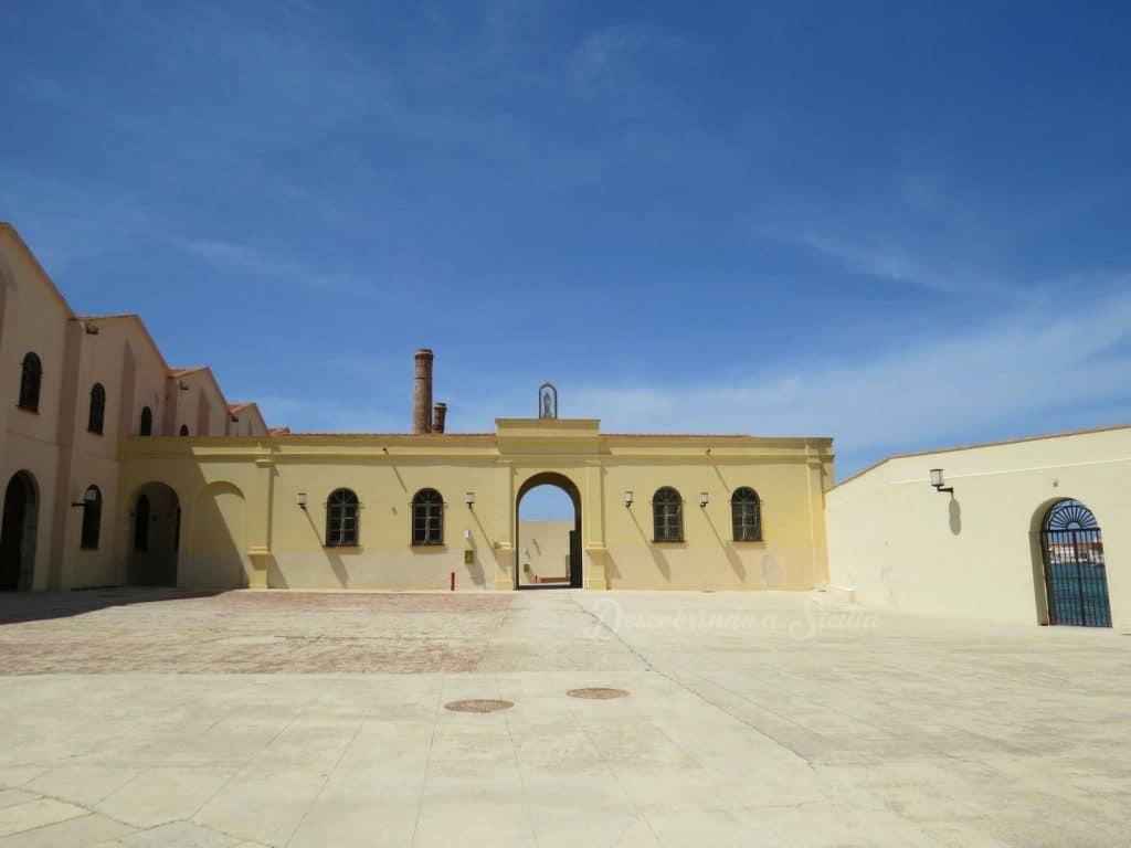 Museu em Favignana: a Tonnara Florio