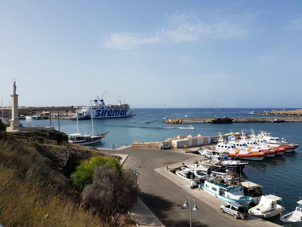 como chegar a Lampedusa