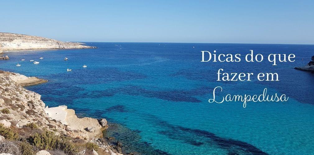 O que fazer em Lampedusa