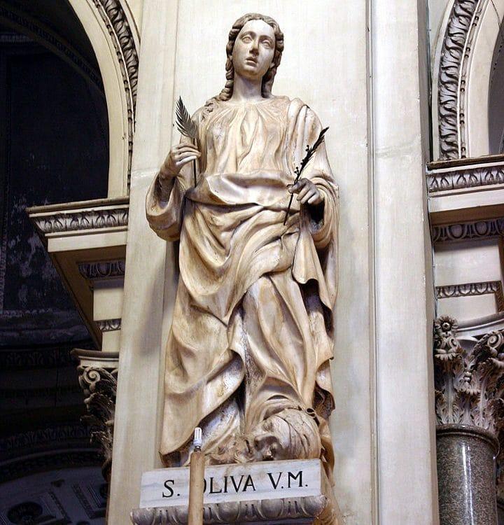 santas sicilianas
