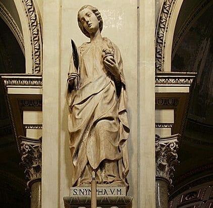 santas sicilianas - santa ninfa
