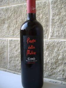 vinhos da calábria