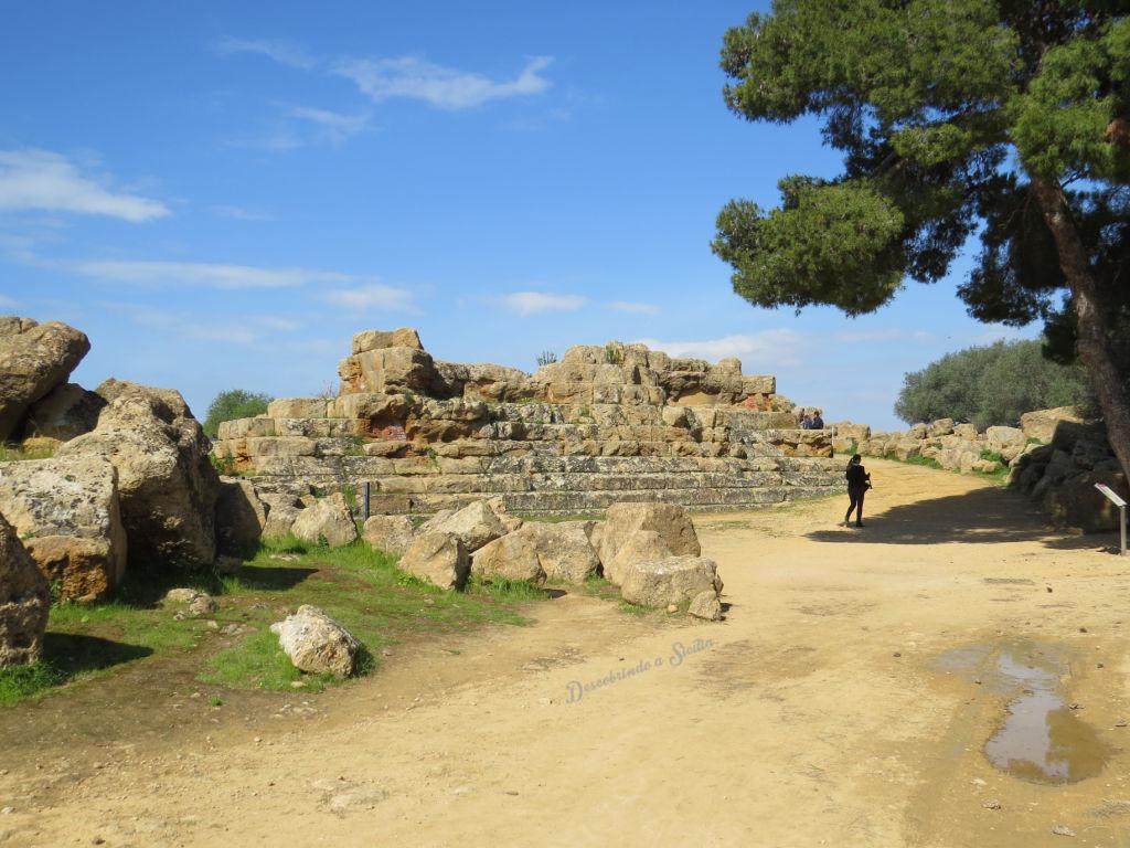 Vale dos Templos - Templo de Zeus