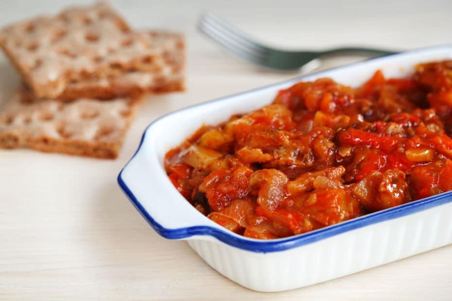 pratos sicilianos com bacalhau