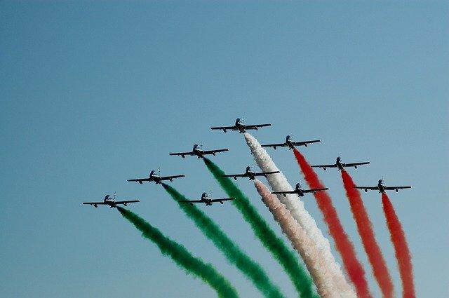 Esquadrilha da Fumaça Italiana - Frecce Tricolori